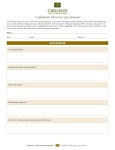 Client Discovery Questionnaire